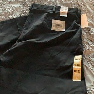 Black men's Docker Pants